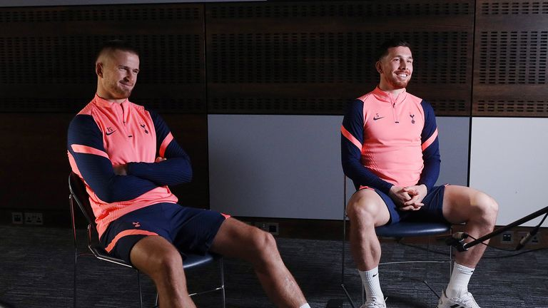 Tottenham's Eric Dier and Pierre-Emile Hojbjerg joined fans from the club's LGBT+ and allies supporters group Proud Lilywhites for a special video call in support of Rainbow Laces.