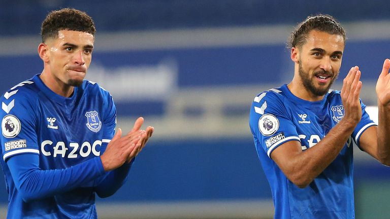 Ben Godfrey was solid in defence while Dominic Calvert-Lewin led the line