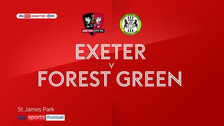 Exeter v Forest Green