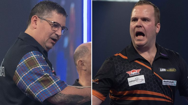 Gary Anderson faces Dirk Van Duijvenbode in what should a crackerjack of an encounter