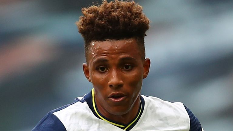 Gedson Fernandes is yet to feature in the Premier League for Tottenham this season