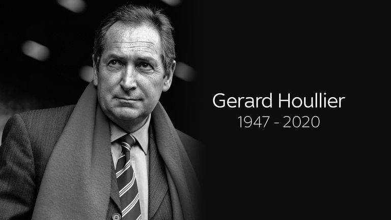 Gerard Houllier has died aged 73