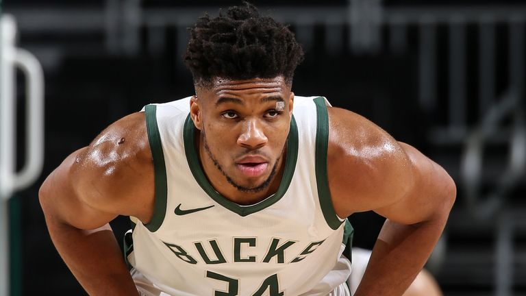 Giannis Antetokounmpo explains why he signed record contract extension with  Milwaukee Bucks   NBA News   Sky Sports