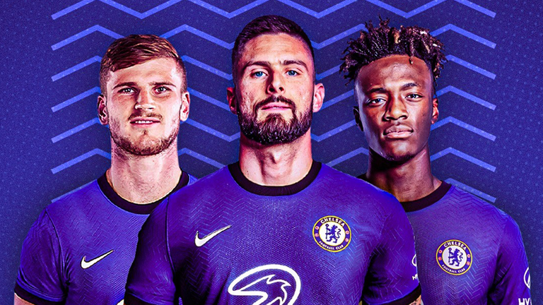 Should Timo Werner, Olivier Giroud, or Tammy Abraham start through the middle for Chelsea?