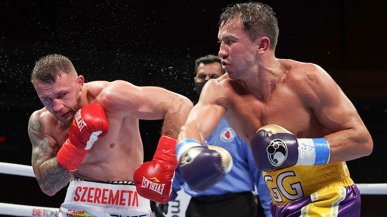 Golovkin retained his IBF middleweight title