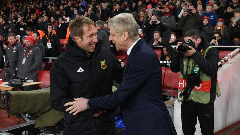 Graham Potter led Ostersunds to become the first Swedish team to beat Arsenal in Europe with a Europa League win at the Emirates in 2018