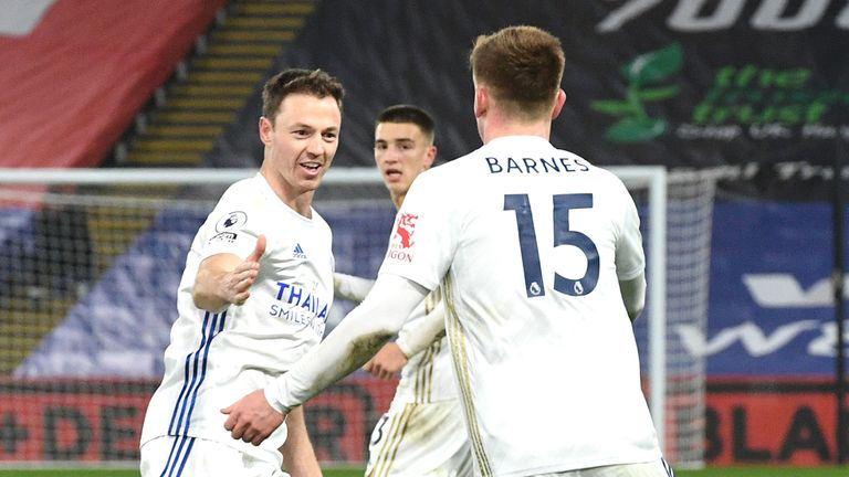 Crystal Palace 1-1 Leicester: Harvey Barnes helps seal another Fox draw    Football News