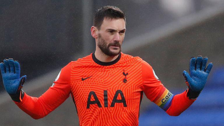 Hugo Lloris was at fault for Crystal Palace's equaliser against Tottenham