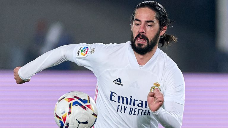 Arsenal and Everton have been linked with Real Madrid's Isco
