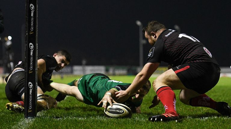 Jack Carty was well aware of Connacht's first night's effort