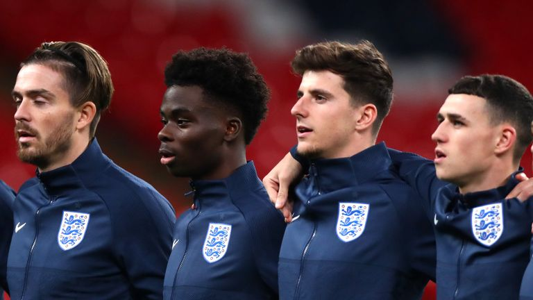 Gareth Southgate is excited to see England's young players hit their peak on the road to Qatar 2022
