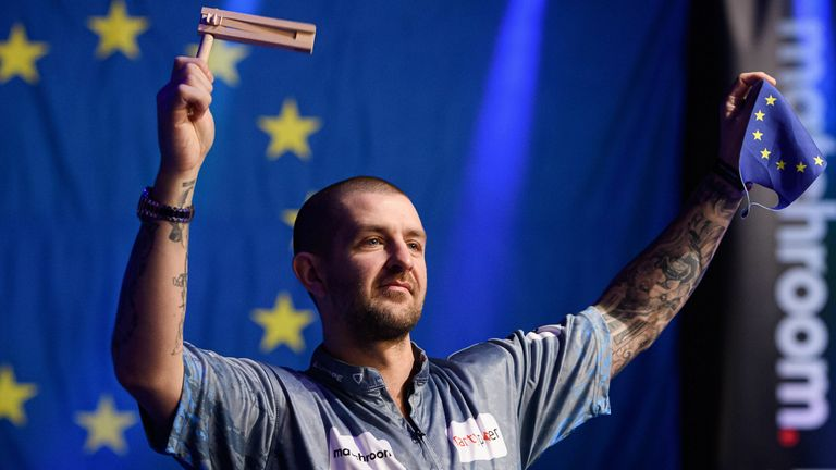 Mr MVP Jayson Shaw was Europe's main man as they regained the Mosconi Cup
