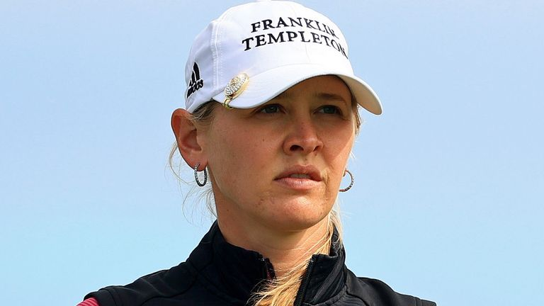Jessica Korda played alongside Charley Hull during the opening round