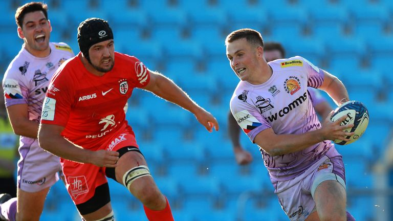 Toulouse were beaten by Exeter Chiefs in last season's Champions Cup semi-finals