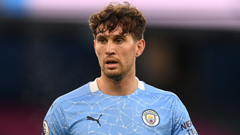 John Stones is a strong contender to start in Saturday's Manchester derby