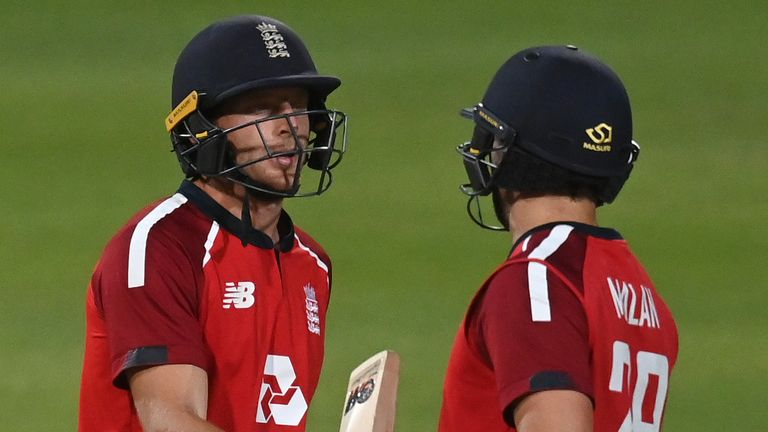 Jos Buttler and Dawid Malan shared an impressive century stand for England in the third T20I against South Africa