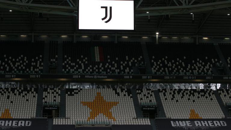 General view of Juventus' Allianz Stadium