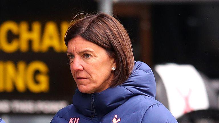 Former Spurs Women co-head coach Karen Hills