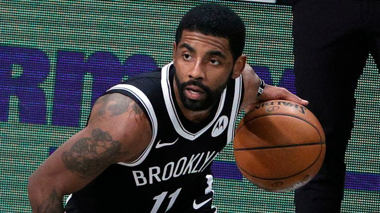 Kyrie Irving led the way in the opening game of the season