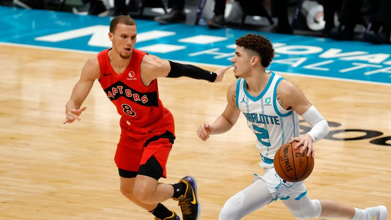 Preseason Raptors 112 109 Hornets Nba News Sky Sports