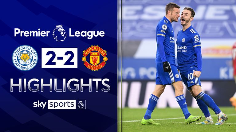 Leicester v Man Utd highlights
