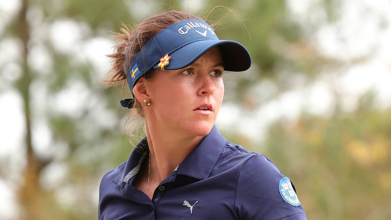 Swedish amateur Linn Grant lies second in Houston