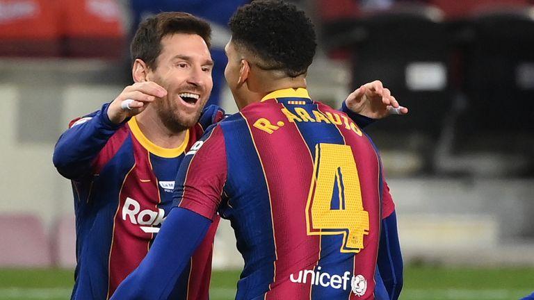 Lionel Messi scored a milestone goal against Elche