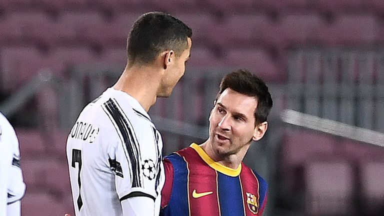 Cristiano Ronaldo says playing Lionel Messi is a 'great privilege' |  Football News | Sky Sports
