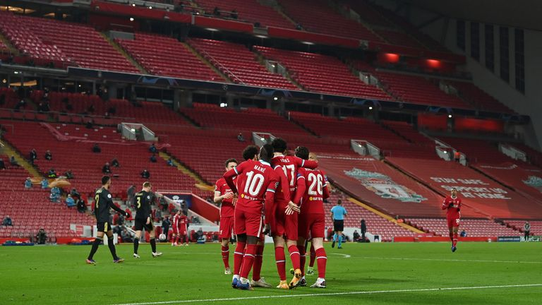 Liverpool beat Ajax 1-0 in the Champions League at Anfield on Tuesday