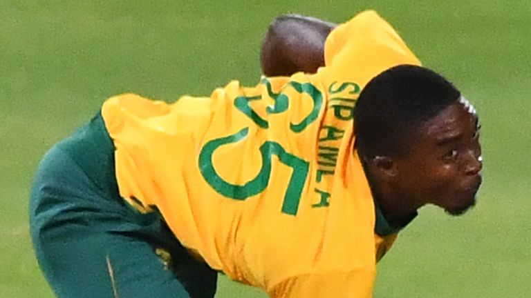 Lutho Sipamla's 2.4 overs in the final T20I against England were smashed for 45 runs
