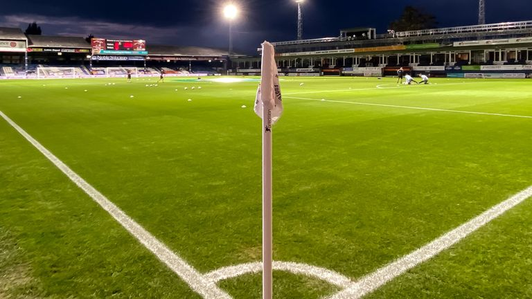 A limited amount of Luton fans will be allowed back into Kenilworth Road on Wednesday