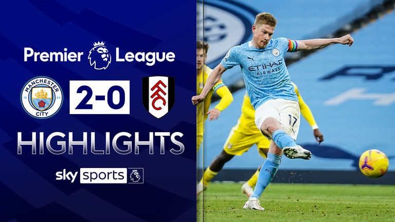 Man City v Fulham Highlights