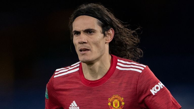 Edinson Cavani joined Manchester United on a one-year deal during October's Transfer Deadline Day