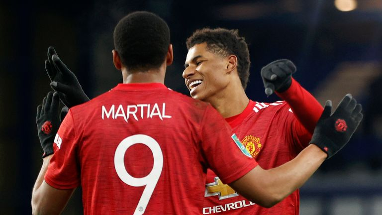 Anthony Martial rounded off the win with the final kick out of the match