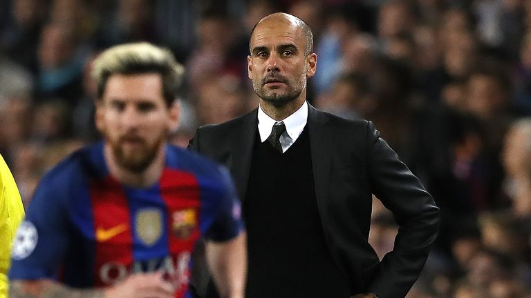 Messi and Guardiola enjoyed a successful partnership at Barcelona where they won 14 major titles