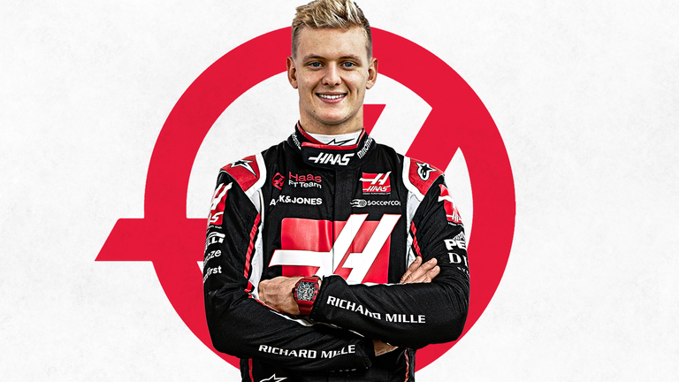 Mick Schumacher Recently Signed To Drive For Haas For The 2021 Season