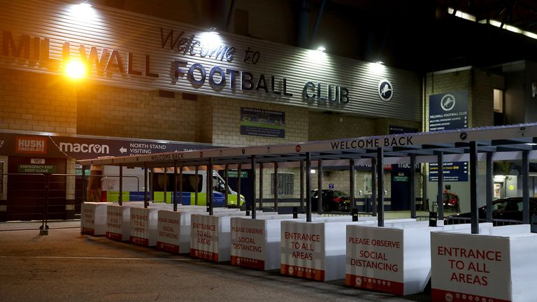 """Millwall Supporters' Club said in a statement that Saturday was a """"testing day"""" for everyone associated with the Championship side"""