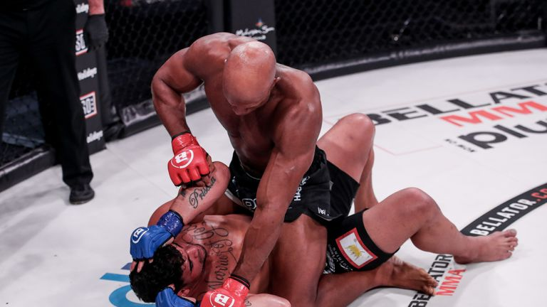 Linton Vassell (20-8) defeated Ronny Markes (19-8) via TKO (strikes) at 3:37 of round two