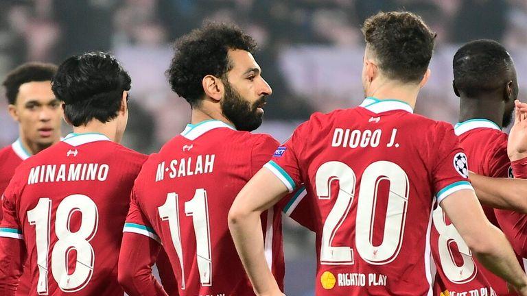 Midtjylland 1 1 Liverpool Var Denies Liverpool Winner In Final Champions League Group Game Football News Sky Sports