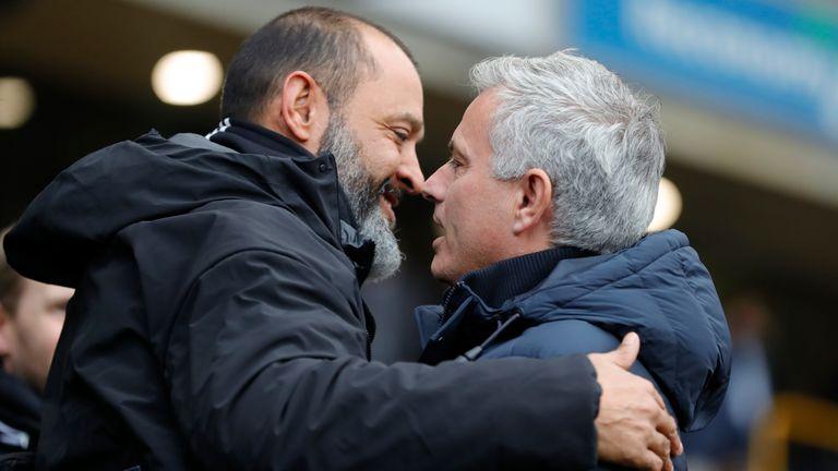 Jose Mourinho managed Nuno Espirito Santo at Porto