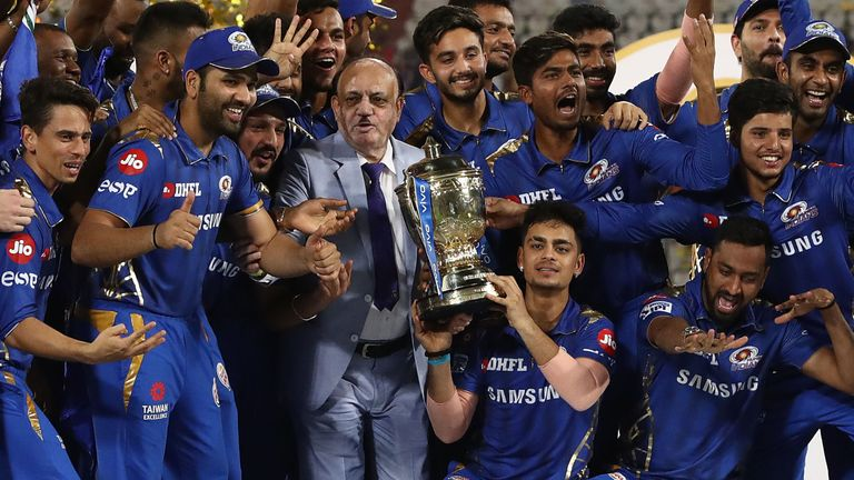 Mumbai Indians have won the last two editions of the IPL, taking their total tournament wins to five