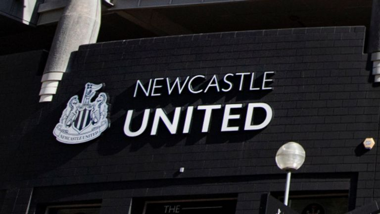 Newcastle players have been told to continue training at home for the time being