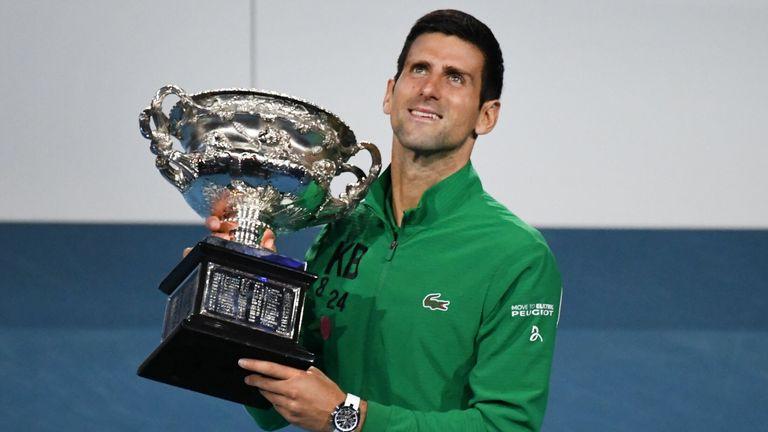 Novak Djokovic will defend his Australian Open title in February