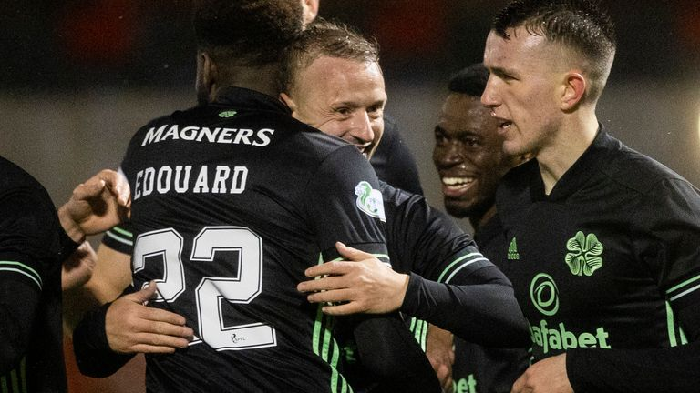 Odsonne Edouard put Celtic in front from the spot