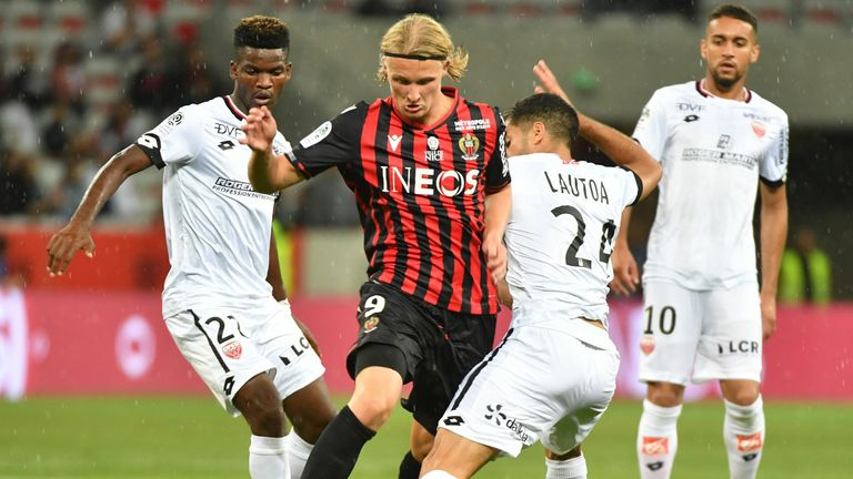 Nice were beaten by bottom club Dijon in their last Ligue 1 game