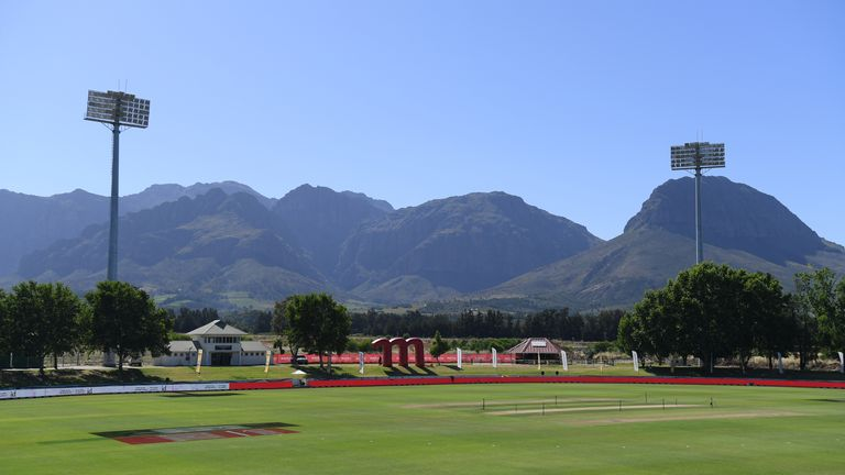 The series was on Sunday at Boland Park in Paarl