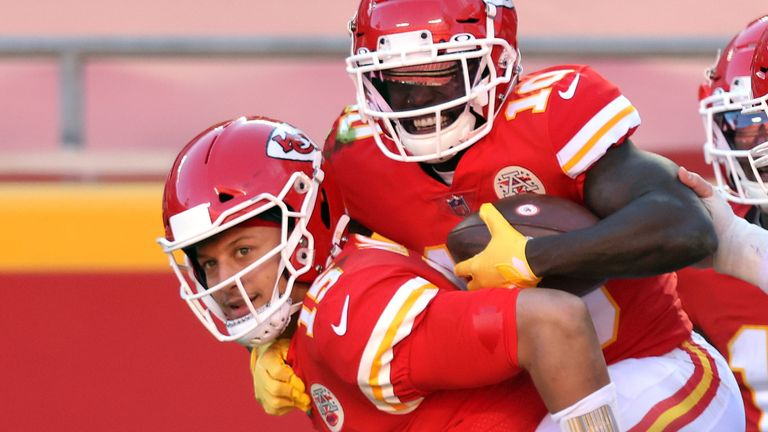 Patrick Mahomes and Tyreek Hill have continued their epic connection for the Chiefs in the 2020 season