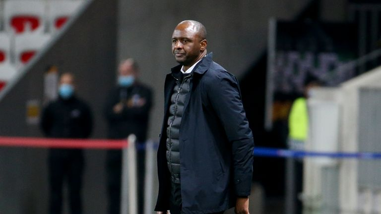 Vieira has been unable to arrest Nice's slump in recent games