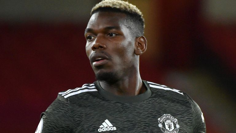 Paul Pogba started back-to-back Manchester United games for the first time since October in the 3-2 win at Sheffield United