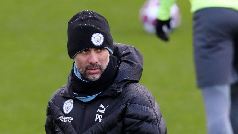 Pep Guardiola's side returned to training on Wednesday after the temporary closure of the City Football Academy